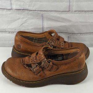 Vintage Doc Martens #12163 brown leather maryjanes